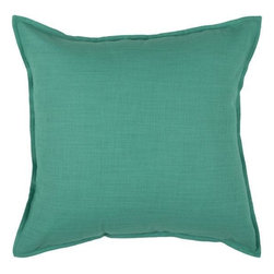 Home Decorators Collection - Romi Pillow - An attractive urban decorative pillow is just the finishing touch needed for your home decor. Smooth and sophisticated, this cotton woven home accent with the look of linen will set off any piece of furniture in your living room, dining room or bedroom. Delightfully simple, you'll find a home for this pillow any where in your house. Cotton weave with a linen look. Filled with Poly fill material.