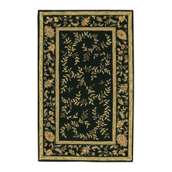 Chandra - Chandra Metro Transitional Hand Tufted Floral Rug X-60197-755TEM - The Metro collection represents the widest range of styles of any collection offered. Hand tufted from imported wool, this collection offers rugs for all varieties of taste and budget. The Metro collection is by far the most affordable line of wool rugs, and the most diverse.