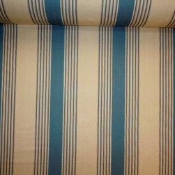Ralph Lauren Silver Lake Stripe color Vintage Blue Fabric - RL-LCF65532F from Book: Artiste De La Mer