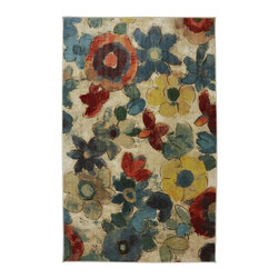 American Rug Craftsmen - Contemporary Flagstaff 8'x10' Rectangle Multi Color Area Rug - The Flagstaff area rug Collection offers an affordable assortment of Contemporary stylings. Flagstaff features a blend of natural Multi Color color. Machine Made of Nylon the Flagstaff Collection is an intriguing compliment to any decor.