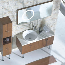 Modern Bathroom Vanities And Sink Consoles by The Interior Gallery