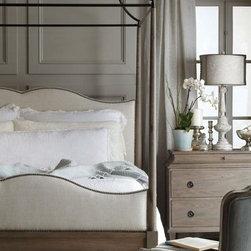 Heritage Canopy Bed - Oak solids and veneers,