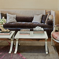 Traditional Sofas by Jamie Herzlinger