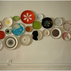modern jane: I LOVE A GOOD PLATE WALL