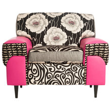 Eclectic Living Room Chairs by Salmagundi