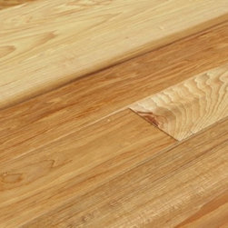 Hickory Natural Hand Scraped Solid Engineered Wood Floor -
