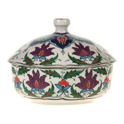Turkish Covered Dish, Design B - Turkish Covered Dish