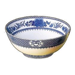 Mottahedeh - Mottahedeh |  Imperial Blue Salad Bowl - By Mottahedeh