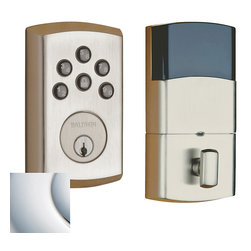 Baldwin Hardware - Baldwin Estate 8285 Soho Electronic Deadbolt - Polished Chrome - 8285 Product Details