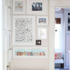 Re-Thinking the Gallery Wall: 8 More Funky & Fun Ideas   Apartment Therapy