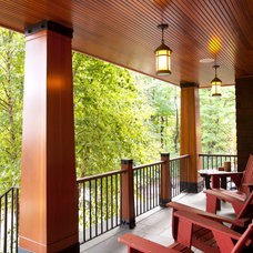 Transitional Porch by M|A|Peterson