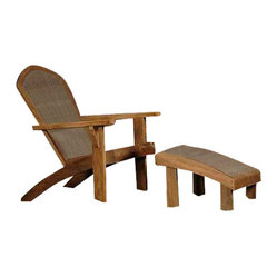 Panama Jack Leeward Islands Relax Chair and Ottoman