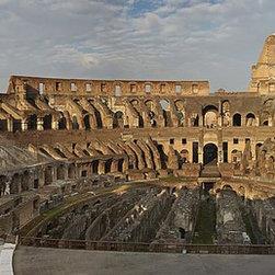 Magic Murals - Inside the Roman Colosseum Wallpaper Wall Mural - Self-Adhesive - Multiple Sizes - Inside the Roman Colosseum Wall Mural