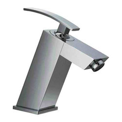 ALFI brand - ALFI brand AB1628 Single Lever Slanted Bathroom Faucet Polished Chrome - Unique in design and with the use of simple and smooth edges, this faucet represents the essence of elegant modernism in your home.