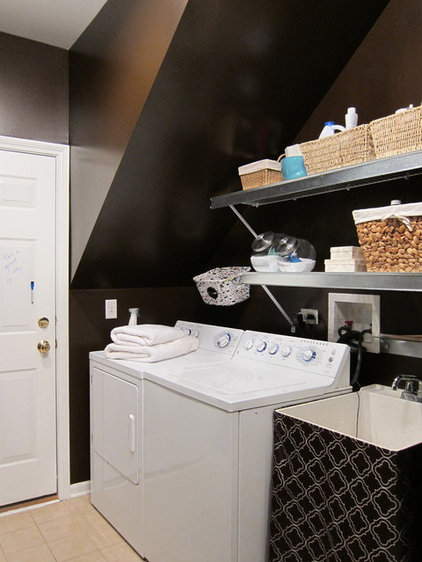 eclectic laundry room by Your Favorite Room By Cathy Zaeske
