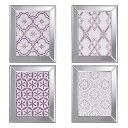 Paragon Art - Paragon Ornamental I ,Set of 4 - Artwork - Ornamental I ,Set of 4         ,  Paragon Exclusive Giclee , Paragon has some of the finest designers in the home accessory industry. From industry veterans with an intimate knowledge of design, to new talent with an eye for the cutting edge, Paragon is poised to elevate wall decor to a new level of style.