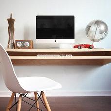 Contemporary Desks by UPinteriors