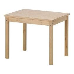 SVALA Children's table - Children's table, birch, plywood