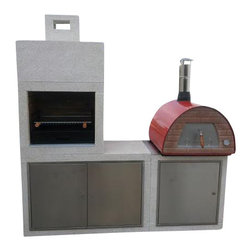 Mobile / Portable Wood Fired Outdoor Pizza Oven, only 120 lb! Great for Patio, R - Mobile Wood Fired Oven!