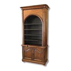 EuroLux Home - New Bookcase French Country Peg Construction - Product Details