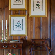 Traditional Hall by Elizabeth Swartz Interiors