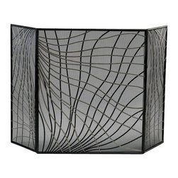 Cyan Design - Finley Fire Screen - Weight: 15.05lbs.