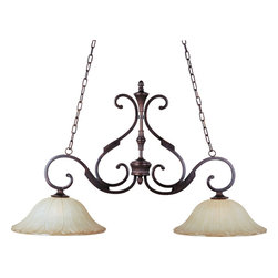 Maxim Lighting - Maxim Lighting 13509WSOI Allentown 2-Light Pendant - Maxim Lighting 13509WSOI Allentown 2-Light Pendant