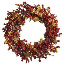 Traditional Wreaths And Garlands by Pier 1 Imports