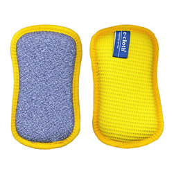 e-cloth - e-cloth Washing Up Pad - The e-cloth Washing Pad is one of the newest additions to the revolutionary up of eco,friendly Cleaning cloths produced by the sustainable Cleaning supplies brand e-cloth! The Cleaning pad has two Cleaning surfaces.