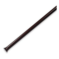 Umbra - Umbra Chroma Bronze Drapery Tension Rod - Give your windows instant style and functionality with this quick and easy to install tension rod. It requires no tools or hardware, and fits right inside the window frame so the molding can be seen.