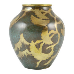 Lavish Shoestring - Consigned Brass Vase by WMF Ikora German Art Deco 1920s - This is a vintage one-of-a-kind item.