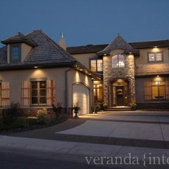 traditional exterior by Veranda Estate Homes & Interiors