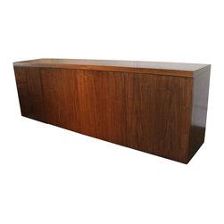 Mortise & Tenon - Mercer Media Cabinet - Four Door Modern Walnut Media Cabinet