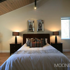 Eclectic Bedroom by MOONES Home LLC