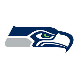 Brewster Home Fashions - NFL Seattle Seahawks Teammate Logo 3pc Wall Sticker Set - FEATURES: