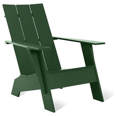 Modern Outdoor Chairs Adirondack Chair, Large