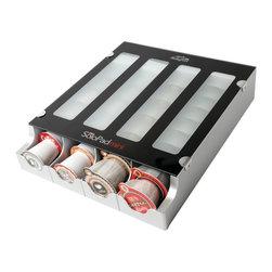 Solofill - Solofill 10731-01-Spmblack Mini Coffee K-Cup Coffee Pod Dispenser, Black - - Automatic coffee pod dispenser