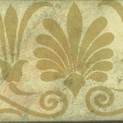 York Wallcoverings - STYLE SOURCE SCROLL SAND Wallpaper Border - Wallpaper borders bring color, character and detail to a room with exciting new look for your walls - easier and quicker then ever.