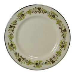 Lavish Shoestring - Consigned Small Side Plate Vanity Fair Pattern by Royal Doulton, Vintage English - This is a vintage one-of-a-kind item.