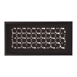 Howard Elliott - Silver Geometric Block Wall Art II - Silver Geometric Block Wall Art II