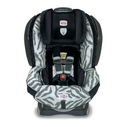 Britax - Advocate Convertible 70-G3 Car Seat - The Britax Advocate 70-G3 convertible car seat accommodates children rear facing from 5 to 40 pounds and forward facing from 20 to 70 pounds. The Advocate 70-G3 G3 is purposefully designed and engineered to minimize the forward movement of your child's head during a frontal impact to reduce the risk of head injury with the following revolutionary Britax head safety technologies. The Advocate 70-G3 is also equipped with energy-managing Side Impact Cushion Technology, reducing incoming side impact crash energy by 45 percent by diverting crash forces away from the child and incorporates Britax True Side Impact Protection for three layers of side impact protection. The five-point harness is tangle-free with an EZ-buckle system to retain the harness buckle in a forward position while harness holders that keep harness straps pulled to the sides to make boarding quick and hassle-free. Additionally, the Click and Safe Snug Harness Indicator aids in proper harness snugness. Other features include a no-rethread harness and an easy-remove cover that also allows access to belt paths from the front of the seat, while the multiple buckle and recline positions, comfort pads, and infant body pillow provide premium comfort and positioning. Features: -Side Impact Cushion Technology features energy-absorbing cushions on the exterior of the child seat to reduce side impact crash energy by 45% by diverting crash forces away from your child and providing extra protection for the adjacent passenger..-True Side Impact Protection is deep side walls with energy-absorbing EPP foam along with a head restraint which offers a double layer of EPP foam to distribute crash forces, shield from vehicle intrusion, and contain the head, neck and body while keeping them ''in true'' or aligned.-Base with SafeCell Technology features SafeCells designed to compress in a crash, significantly lowering the center of gravity and counteracting the forward rotation of the child seat which normally propels the child toward the front seat.-Integrated Steel Bars strengthen the connection to the vehicle and reduce forward flexing of the child seat during a crash.-Energy Absorbing Versa-Tether features a staged-release tether webbing to slow the forward movement, reducing the crash forces reaching the child, and a two-point attachment to minimize forward rotation while anchoring the top of the child seat.-HUGS Chest Pads with SafeCell Technology are affixed to the seat shell to ensure proper positioning while SafeCells compress to manage energy and provide resistance to the forward movement of your child in a crash, reducing the risk of head injury.-Tangle-Free, Five-Point Harness distributes crash forces across the strongest parts of the body and provides a secure fit.-70-pound Weight Capacity for safety and comfort as your child grows.-Rear and Forward Facing Recline for child comfort and positioning.-High Density Comfort Foam provides an extra layer of padding to gently cushion your child.-Plush, Easy-Remove Cover with matching comfort pads and Infant body pillow to provide extra comfort and easy cleaning without disassembling or uninstalling the child seat.-Two Buckle Positions for your growing child.-Infant Positioning Insert may be necessary for small infants to achieve a snug fit of the harness around your child (sold separately).-Click and Safe Snug Harness Indicator is an audible aid that provides extra assurance when the harness is within range of appropriate snugness.-Quick-Adjust Harness repositions the harness shoulder height without disassembling the harness straps.-Premium Lower Latch Connectors for a quick and simple installation featuring a push button for easy release.-EZ-Buckle System retains the harness buckle in a forward position and prevents the child from sitting on the buckle when boarding.-Harness Holder