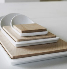 modern knives and chopping boards by Better Living Through Design