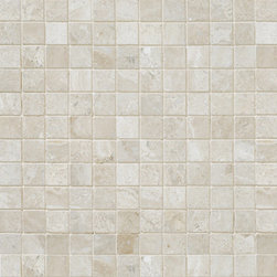 marblesystems - Diana Royal Polished Marble Mosaics - Natural marble mosaic tile that can be used on floors and walls. Made in Turkey.