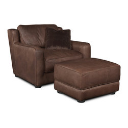 Hooker - Seven Seas Seating Fish River Canyon - Plateau Stationary Chair - Seven Seas Seating specializes in recliners and accent chairs for the living room and office. Chairs are primarily made with rich, soft leather but there's also a nice selection of fabrics and fabric/leather combinations. Each chair or sofa by Seven Seas Seating is hand-crafted by world-class furniture producers working to rigorous standards mandated by Seven Seas.