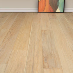 "Free Samples of 7 1/2"" Andora Oiled white oak engineered hardwood flooring - 7.5"" Handscraped & Wire Brushed Andora White Oak"