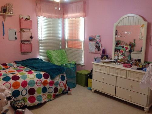 teenage room needs changing