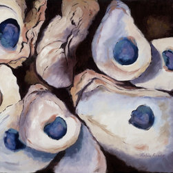 Roweboat Art Inc. - Oyster Bed, Fine Art Reproduction, 30X24 - Original painting reproduction