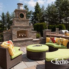 Contemporary Outdoor Grills by Techo-Bloc