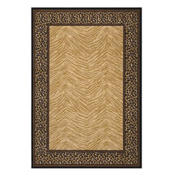 """Couristan - Animal Inspirations Everest 2'x3'7"""" Rectangle Doeskin Area Rug - The Everest area rug Collection offers an affordable assortment of Animal Inspirations stylings. Everest features a blend of natural Doeskin color. Machine Made of 100% Heat-Set Courtron Polypropylene the Everest Collection is an intriguing compliment to any decor."""