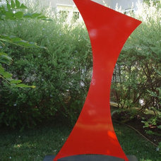Contemporary Garden Statues And Yard Art by Terra Sculpture
